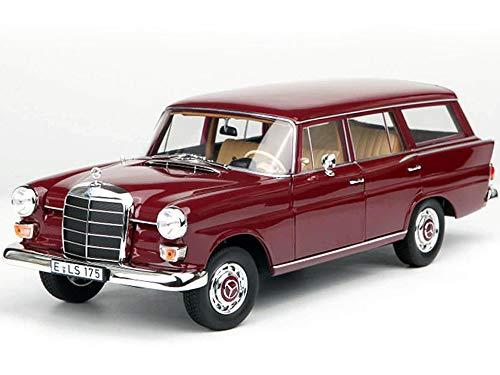 1966 Mercedes Benz 200 Universal Dark Red 1/18 Diecast Model Car by Norev 183576