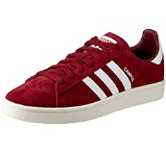 campus shoes red black