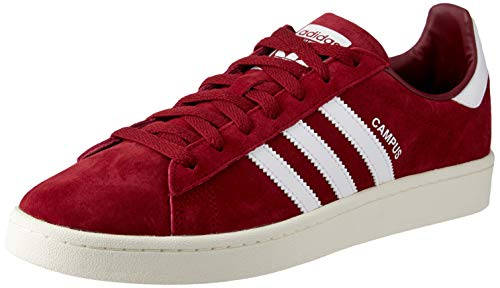Adidas Herren Campus Sneaker, Rot (Burgundy Bz0087), 46 2/3 EU
