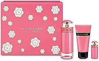 Prada Candy Gloss (W) EDT 80 ml+7 ml Mini+75 ml Bl Set