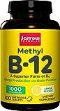 Jarrow Formulas Methyl B12 1,000 mcg Lozenges, 100 ct