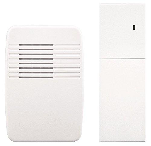 Heathco SL-7357-02 White Wireless Plug-In Door Chime Extender