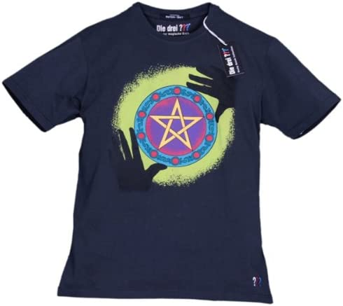 Die Drei Fragezeichen Logo Teenager T-Shirt
