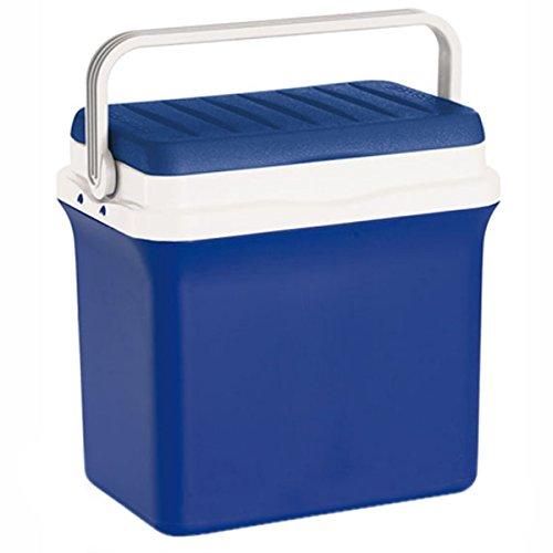 Sac isotherme bleue rigide Réfrigérateur transportable pour aliments et boissons récipient 29,5 L ghiacciera contient bouteilles de 2lt la Giò style modèle Bravo 28