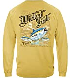 Tuna Yellowtail Bluefin Fishing 100% Cotton Casual Men's Long Sleeved Shirts, Show Your Love of Fishing with Our Unisex Tuna Yellowtail Bluefin Long Sleeve T-Shirts for Men or Women (XX-Large)