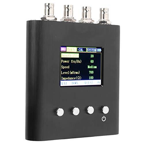 Multímetros portátiles de prueba de impedancia NJ300S, analizador de antenas vectoriales RF 50HZ-100kHZ-23 puntos de frecuencia, fuerte resistencia a las interferencias de frecuencia de potencia