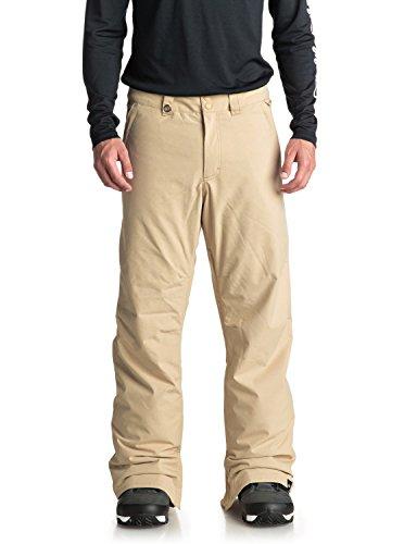 Quiksilver Men's Estate 10K Snow Pants, Mojave Desert, L