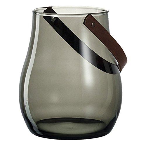 LEONARDO HOME Giardino Gris Kerzenhalter (220 mm, Hand, Tisch, Grau, Sonstiges)