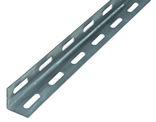 GAH-Alberts 432942 Winkelprofil - Stahl, feuerverzinkt, 1000 x 27 x 27 mm