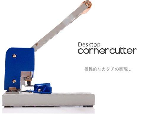 CR-009 デスクトップコーナーカッター業務用 Desktop Corner Cut & Round DIAMOND-1 替刃半径3.5mm、6mm、10mmセット