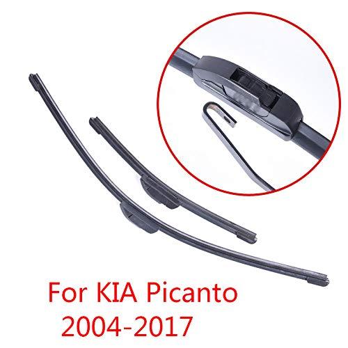 LILIGUAN ruitenwisser, voor Kia Picanto 2004 2005 2006 2007 2008 2009 2010 2011 tot 2017, auto voorruit ruitenwisser