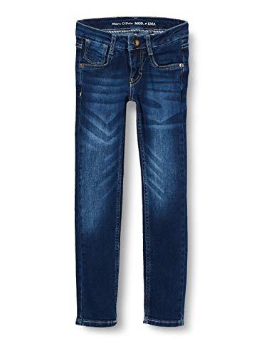 Marc O' Polo Kids Mädchen Jeanshose Jeans, Blau (Blue Denim|Blue 0013), (Herstellergröße: 104)