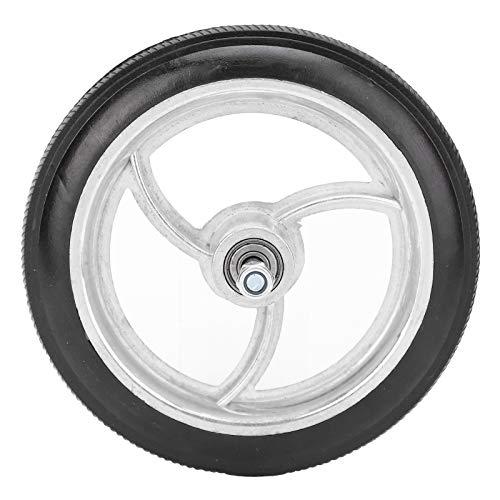 Ruedas delanteras universales para silla de ruedas de aleación de aluminio de 7 pulgadas Ruedas de repuesto para silla de ruedas