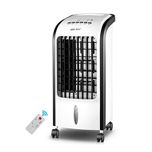 llsdls Aire Acondicionado Portátil De 75W, Ventilador, Humidificador, Refrigeración, 220V, Temporizador (Color : Remote Control)