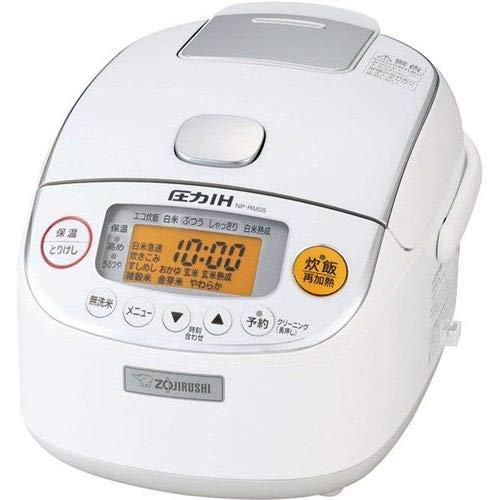 7位:ZOJIRUSHI(象印マホービン)『圧力IH炊飯器 極め炊き 3合炊き(NP-RM05)』