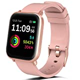 FITVII Smart Watch, Fitness Tracker with Heart Rate Monitor, IP68 Waterproof Smartwatch with Blood...