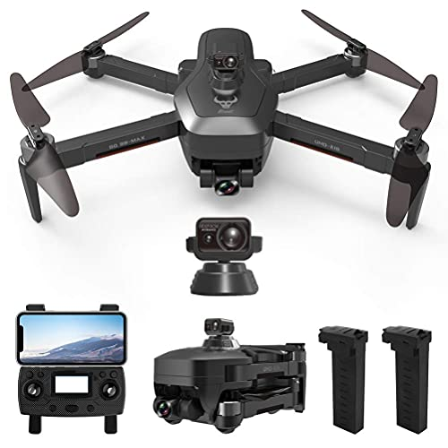 JJDSN GPS Drone 4K HD Camera, Drone with EIS Camera for Adults, Quadcopter Drones 5Ghz FPV Transmission, 50X Zoom, Intelligent Obstacle Avoidance, 1200M Remote Control Distance