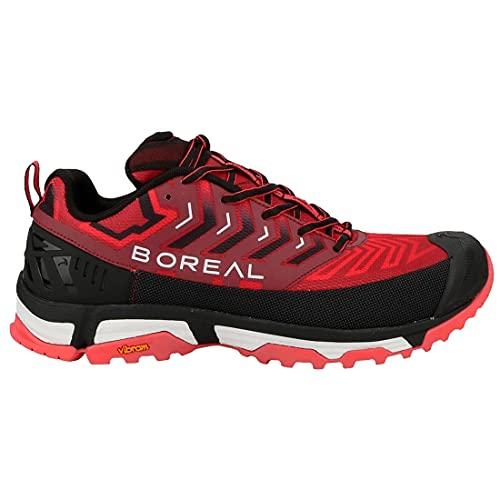 BOREAL 31653, Zapatillas Deportivas Hombre, Rojo/Negro, 44 EU