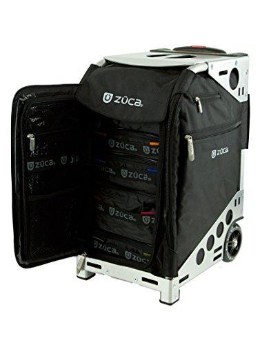 Züca Pro Travel - der Koffer zum Sitzen (Edelstahl) - 2