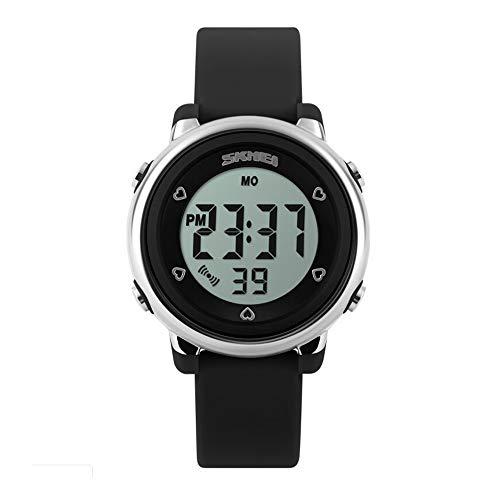 Relógio Digital, Skmei, Meninas, Preto