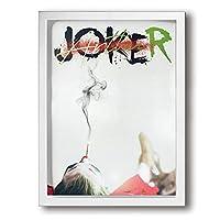 Joker アートデリ ポスター パネル 絵キャンバスの壁アート 木製の枠 アートワーク 壁飾り 壁ポスター おしゃれ 30*40cm 玄関やリビング お祝いや贈り物に 雰囲気 癒し 枠付き 2色