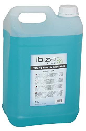 Ibiza SMOKE5L-VHD Nebelfluid, Schwarz