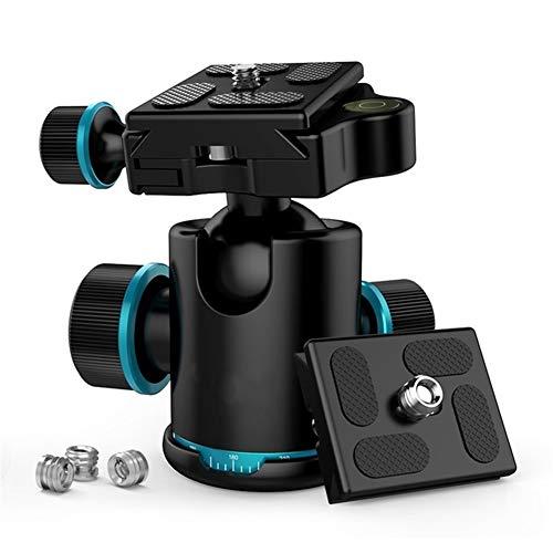 DAXINIU Daxinini Treppiede Capo Testa a Sfera Rotante panoramica Ballhead con 3pcs 1/4' a 3/8' Accessori for Macchine fotografiche Srew adattatori for monopiede DSLR .Accessori per Fotocamera
