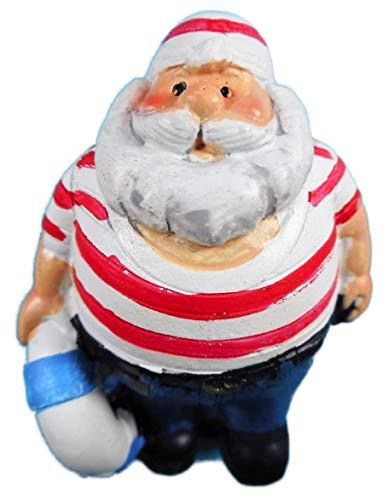 N / A Imán marítimo capitán marinero pescador 6 x 4 cm imán para nevera figura decorativa E13