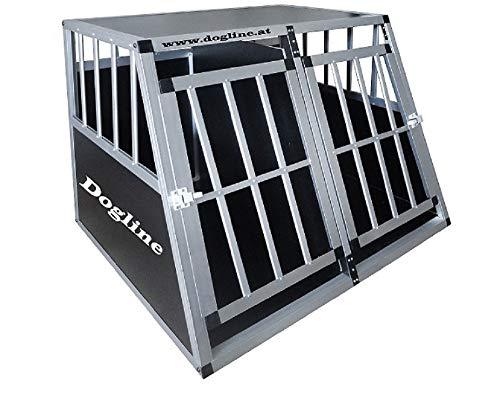 Dogline Austria Alu Hundetransportbox *** 110x95x77 EG *** Hundebox Transportbox Hundegitter Autobox