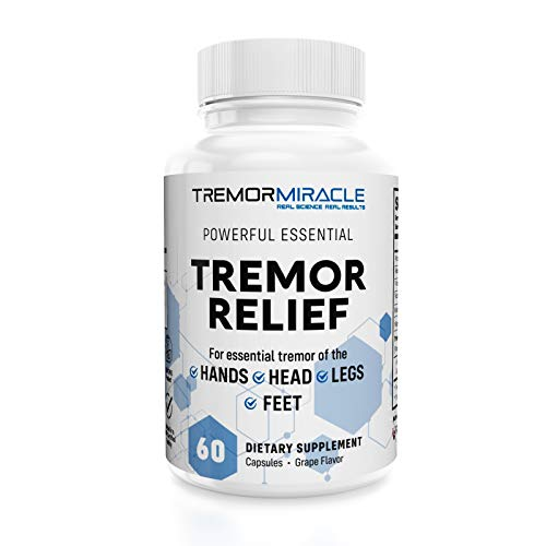 Real Science Nutrition Tremor Miracle Capsules - Essential Tremor Herbal Capsule Supplement for Hands, Legs, Feet, Head Tremors