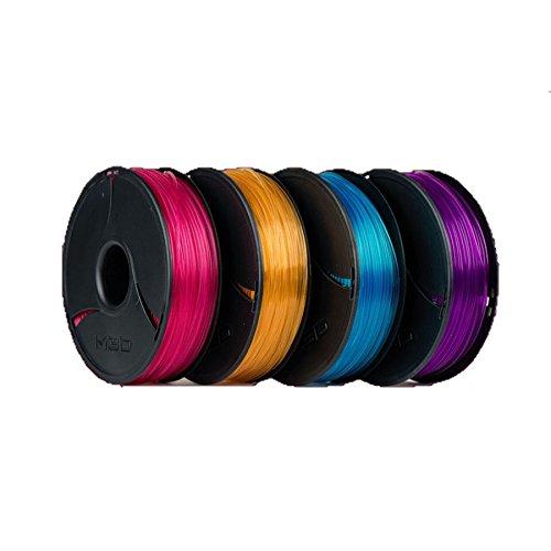 La Micro 3d impresora – PLA – con 4 rollos de filamentos, Candy ...