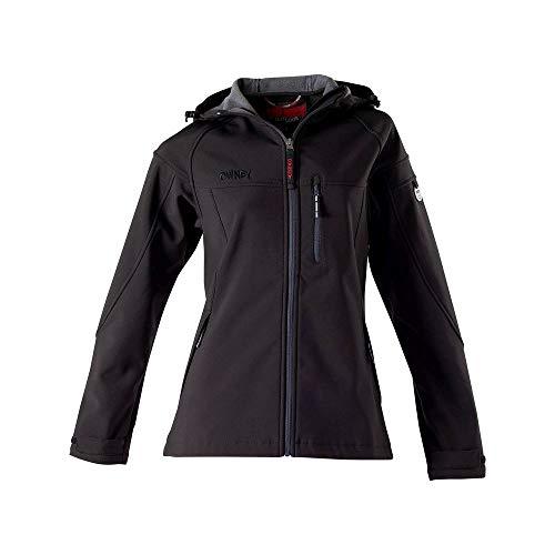 OWNEY OUTDOOR Cerro Jacke Softshelljacke Damen schwarz Gr. XL