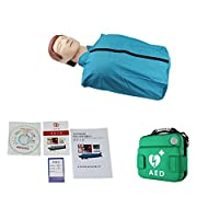 半身肺蘇生シミュレーショントレーニングダミー、簡易応急処置モデルシミュレーションCPR、AEDバッグ