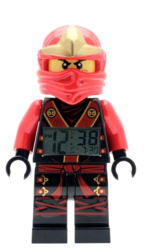 LEGO NINJAGO 9001161 - Minifigura de Kai con reloj despertador para niños