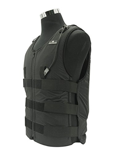Ice Water Circulating Cooling Vest Black with Detachable Bladder XL-2XL