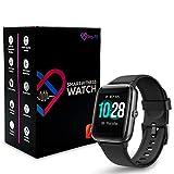 Pro-Fit Move VeryFitPro Smart Watch IP68 Waterproof Fitness Tracker Heart Rate Monitor Step Counter (ID205L) (Black)