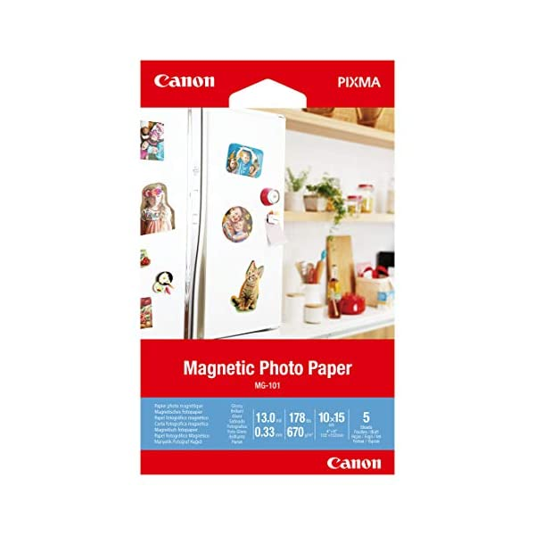 Canon MG-101-4″x6″ Magnetic Photo Paper (3634C002)