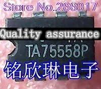 10PCS TA75558P DIP8 In Stock