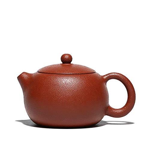outingStarcase Wang Completa Hecha a Mano Tetera Yixing de Mineral Grande Famoso Rojo Naranja Martillo de Belleza Tea Pot