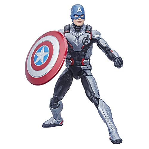 Hasbro Marvel Legends Series Avengers: Endgame 6 pulgadas Captain America Marvel Cinematic Universe-Juguete colectable