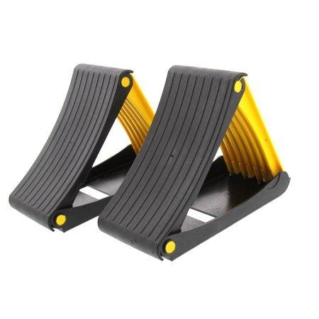 MSA 2 x Klappradkeilen, 2 Bremskeile für Wohnwagen oder Anhänger