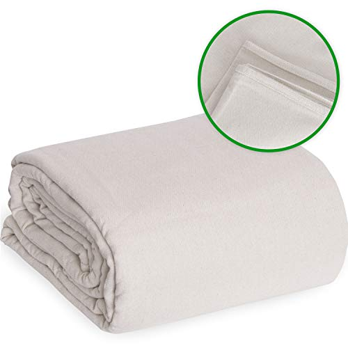Drop Cloth Canvas Drop Cloth 9x12 Canvas Tarp Canvas Fabric Drop Cloth Curtains Drop Cloths for Painting Painters Drop Cloth Paint Drop Cloth Paint Tarp Painting Supplies Canvas Sheet