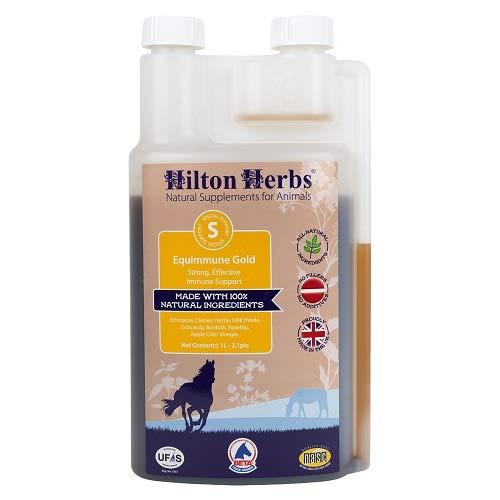 Hilton Herbs Equimmune Gold 1 L Complément Alimentaire Cheval Système Immunitaire