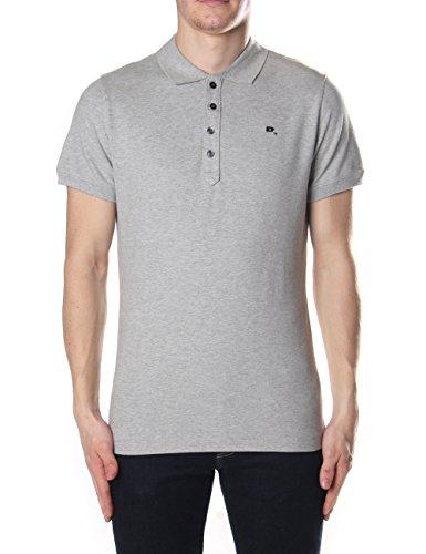 Diesel Herren Stretch Polo Shirt T-HEAL grau (3XL)