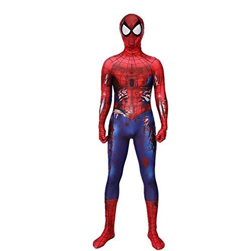 APPSSS Peculiar clásica cómica Muscular del Hombre araña del Traje de Halloween del Traje del Anime de…