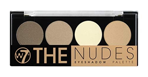 W7 Naked Nudes Eye shadow Palette, 1er Pack (1 x 5.6 g)