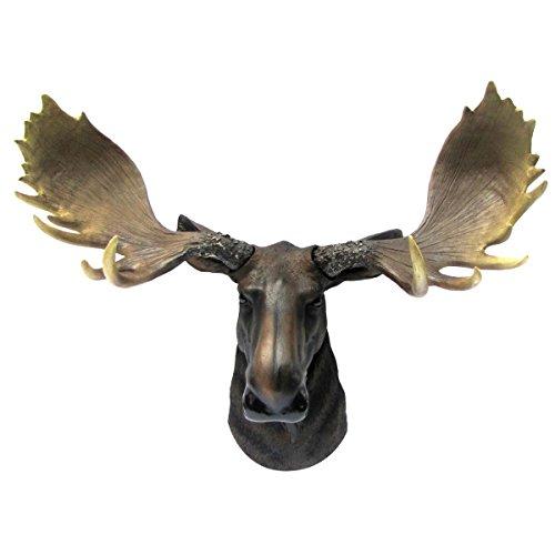 North American Moose Bust for Den