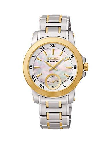 Seiko Reloj Analógico para Mujer de Cuarzo con Correa en Acero Inoxidable 4954628179760