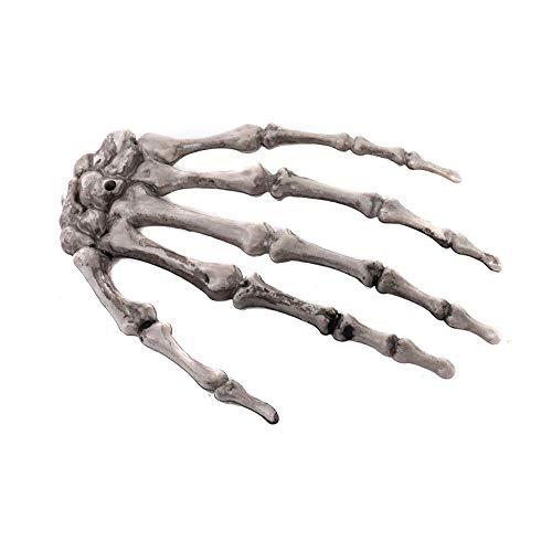 1 Paar Halloween Realistisches Lebensgroßes Skelett Hände Plastic Gefälschte Menschliche Handknochen Zombie Party Terror Scary Props Halloween Dekoen Requisiten