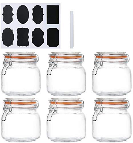 25 oz Glass Jars With Lids